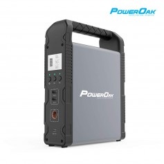 PowerOak - PowerOak PS1 55200mAh / 200Wh solar AC/DC generator - Powerbanks - PS1