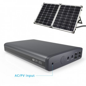 PowerOak - PowerOak K2 solar 185Wh / 50000mAh laptop powerbank - Powerbanks - K2-S