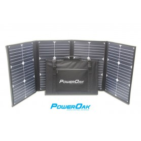 PowerOak S80 solar foldable panel 80W/18V