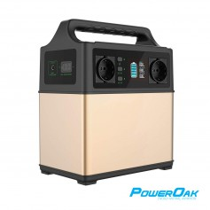PowerOak - PowerOak PS5 400Wh / 120000mAh solar AC/DC USB-C generator - Powerbanks - PS5
